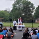 School Outdoor Mass 5/22/18 photo album thumbnail 20