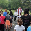 School Outdoor Mass 5/22/18 photo album thumbnail 23
